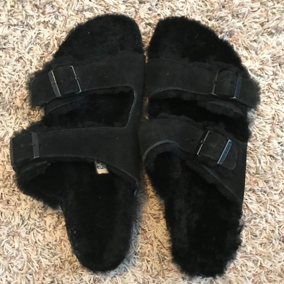 Birkenstock Shoes - Fur lined Birkenstocks